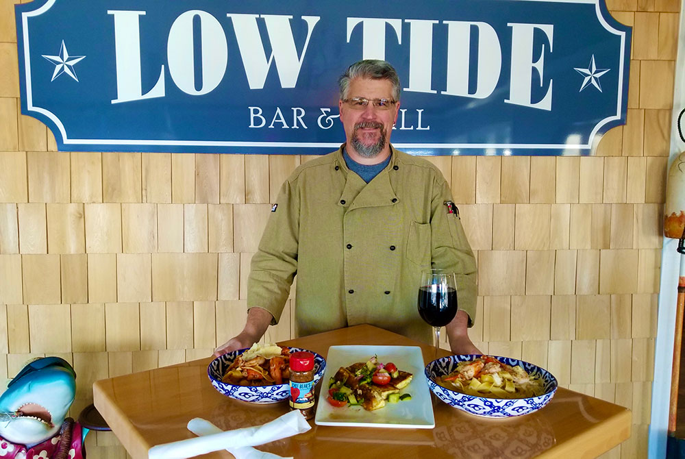 Low Tide Bar and Grill Chef and Owner